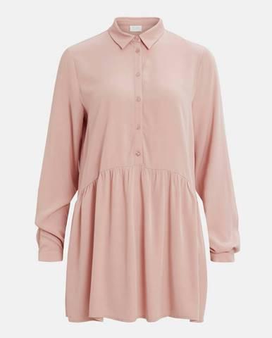 Ružová košeľa VILA Dania