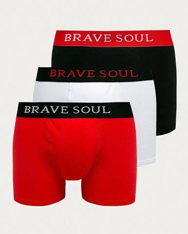 Brave Soul - Boxerky (3-pak)