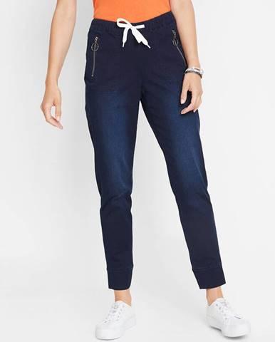 Džínsové joggingové nohavice