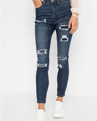 Skinny džínsy destroyed