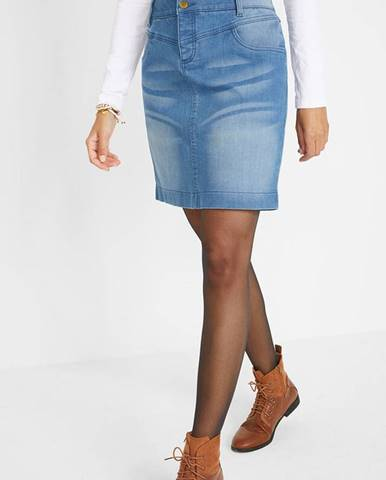 Džínsová sukňa z recyklovateľného polyesteru