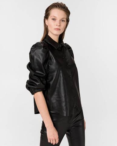 Vero Moda Butter Lola Košeľa Čierna