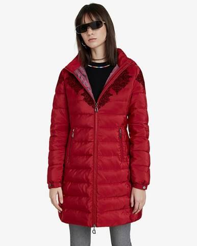 Lena Kabát Červená