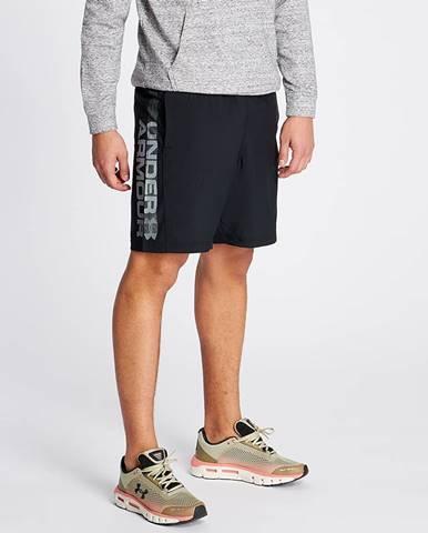Under Armour Woven Graphic Wordmark Shorts Black/ Zinc Gray