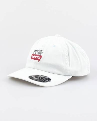Šiltovka Levi's® Peanuts Flexfit Hat Biela