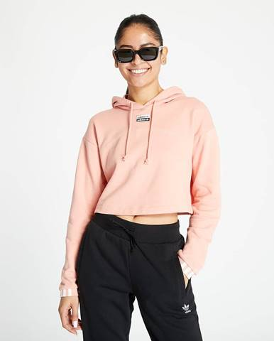 adidas Cropped Hoodie Trace Pink