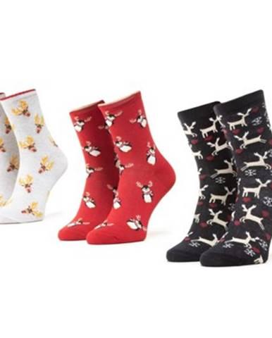 Ponožky  1WB-005-AW20 r.39-42 látkové