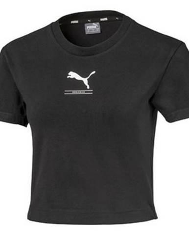 Tričká s krátkym rukávom Puma  Nutility Fitted Tee