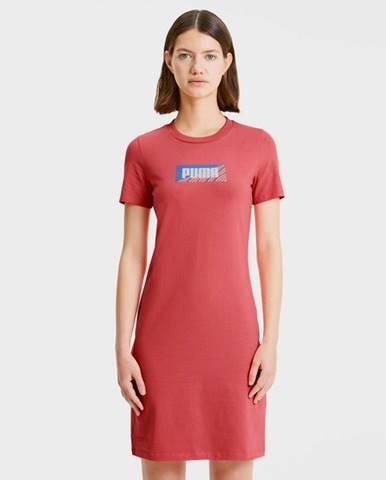 Puma Šaty Červená
