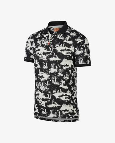 Nike Polo tričko Čierna