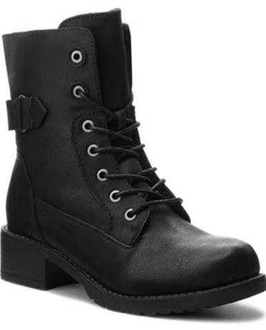 Šnurovacia obuv Jenny Fairy WS16357-3 koža ekologická