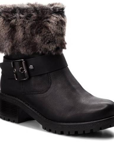 Členkové topánky  WS1128-07 Materiał tekstylny,koža ekologická