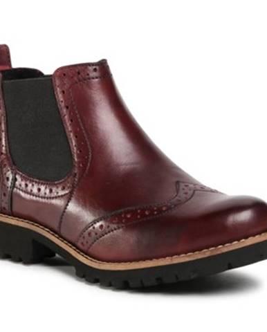 Členkové topánky Lasocki WI23-CORA2-04 koža(useň) lícová