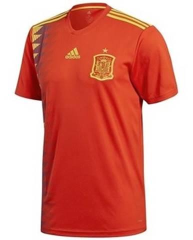 Tričká s krátkym rukávom adidas  Spain Home Jersey