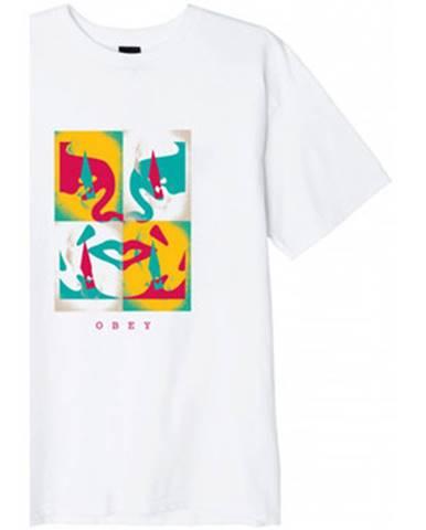 Tričká s krátkym rukávom Obey  x - acto icon face