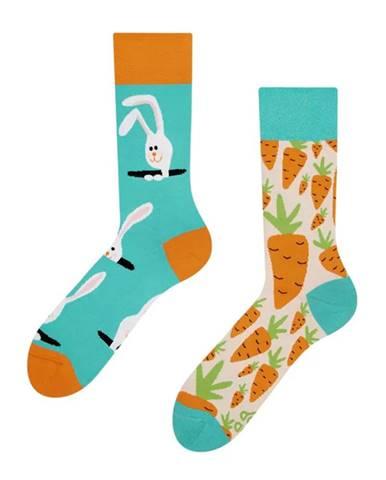 Veselé ponožky Dedoles zajac a mrkva GMRS034