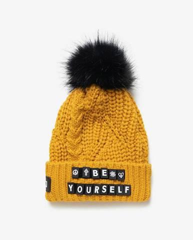 Messages Zimná čiapka Žltá