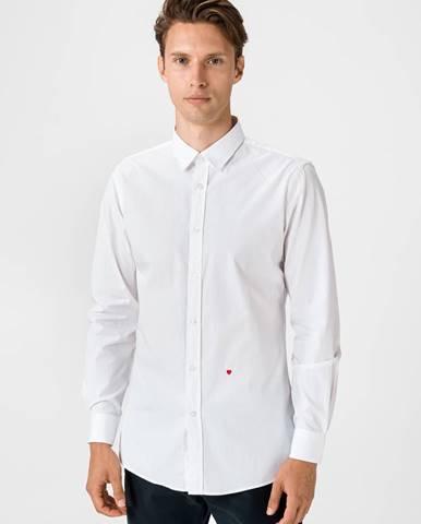 Košile Moschino Biela
