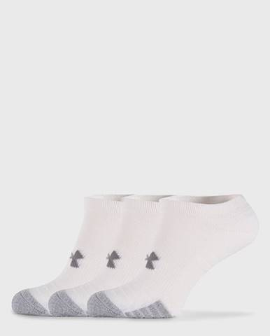 3 PACK bielych ponožiek