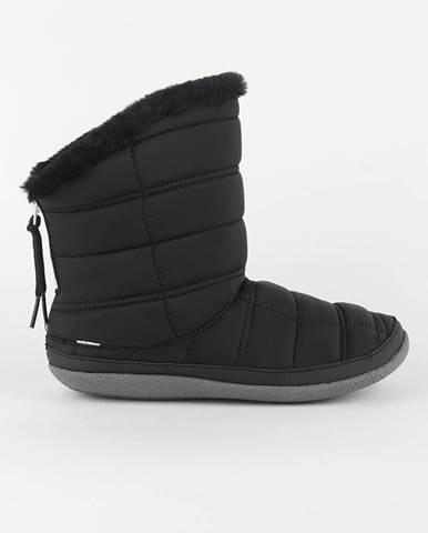 Topánky Toms Black Quilted Čierna
