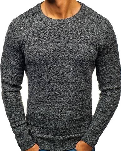 Šedý pánsky sveter