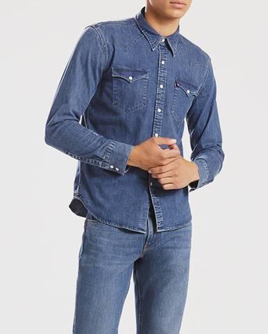 Košeľa Levi's® Barstow Western Brooklyn Stretch Mid Modrá