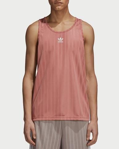 Tielko adidas Originals Football Tank Růžová
