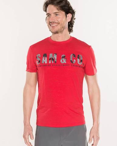 Tričko SAM 73 MT735 Červená