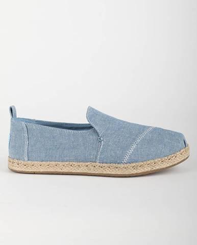 Topánky Toms BLUE SLUB CHAMBRAY WM DECNALP ESP Modrá