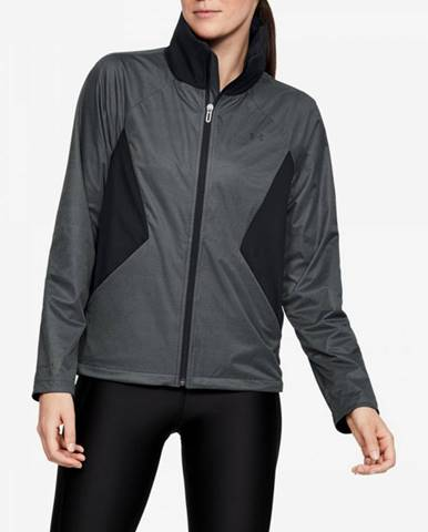 Bunda Under Armour Performance Gore Windstopper-Blk Šedá