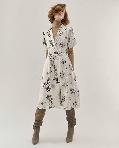 Dámske zavinovacie šaty