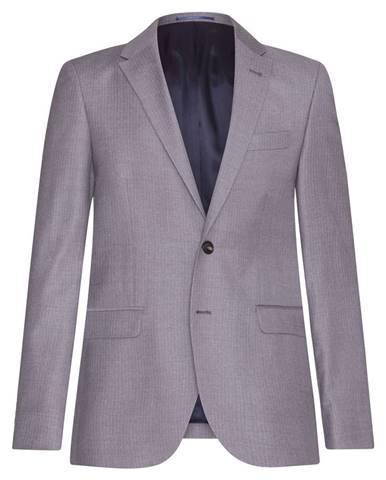 Pánske oblekové sako  sivá