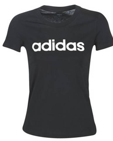 Tričká s krátkym rukávom adidas  E LIN SLIM T