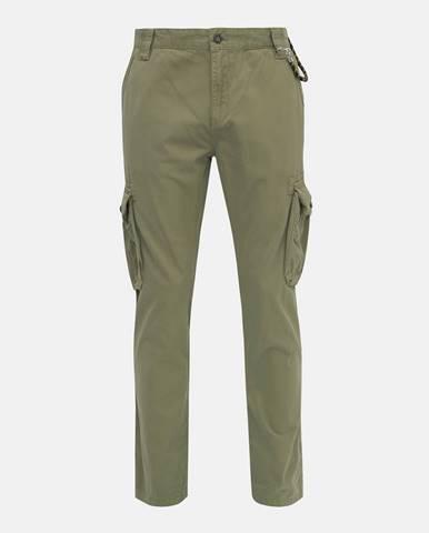 Kaki pánske nohavice Tom Tailor