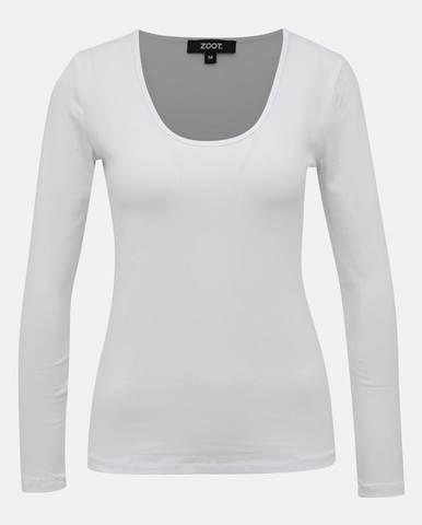 Biele dámske basic tričko ZOOT Jane