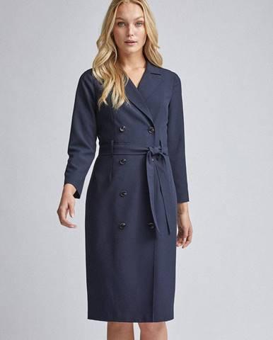 Tmavomodré šaty Dorothy Perkins Tall