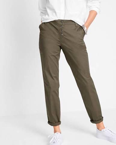 Boyfriend nohavice - Chino s pohodlným pásom
