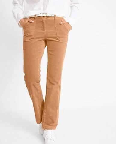 Kordové nohavice s ozdobnými vreckami