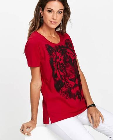 Tričko s potlačou tigra