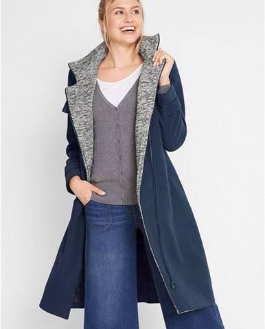 Krátky kabát s asymetrickým zipsom