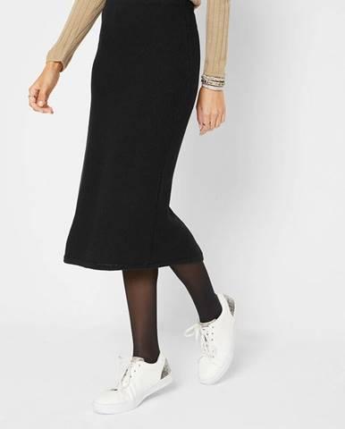 Úpletová sukňa