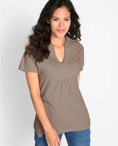 Bavlnené tričko, krátky rukáv