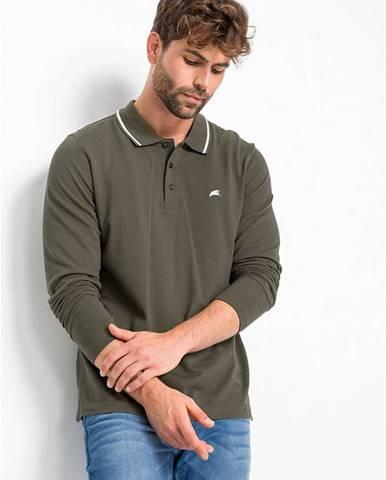 Polo tričko s dlhým rukávom