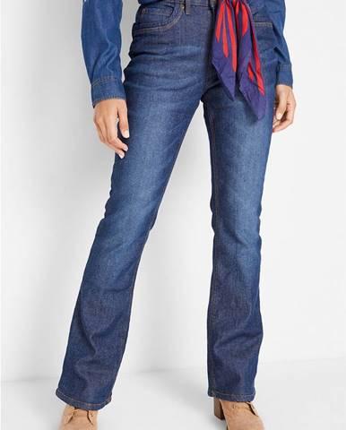 Termo strečové džínsy, BOOTCUT