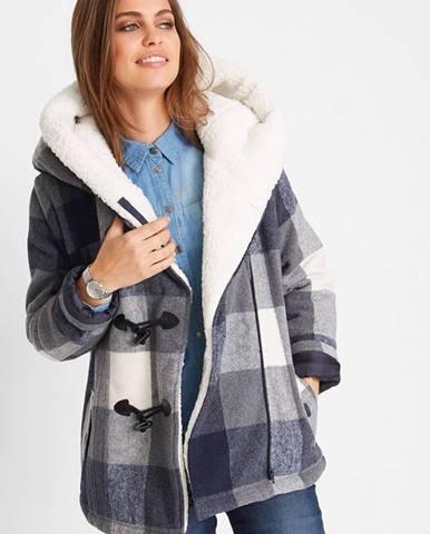 Vlnená bunda s kožušinovou podšívkou