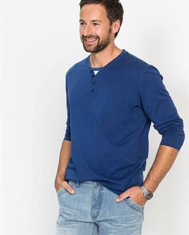 Tričko s dlhým rukávom 2 v 1 Regular Fit