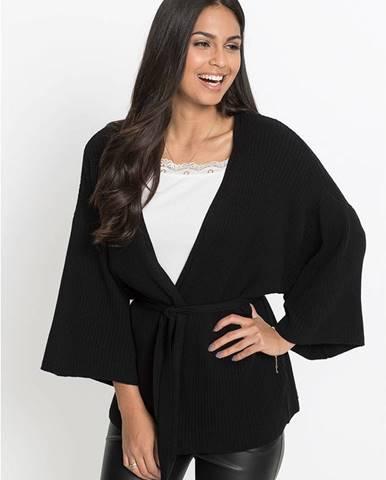 Kimonový pletený sveter
