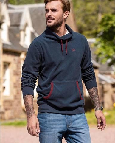 Flísové tričko s kapucňou Regular Fit