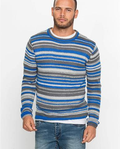 Hrubo pletený pulóver Regular Fit
