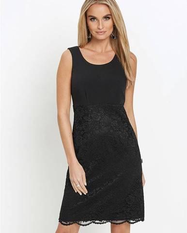Premium púzdrové šaty s čipkou